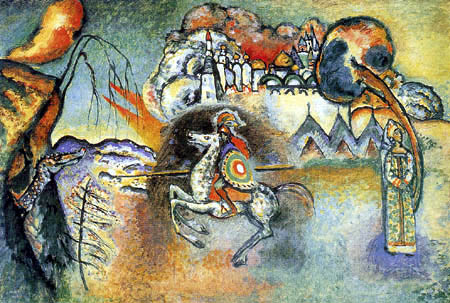 Wassily Kandinsky - Der hl. Georg und der Drache