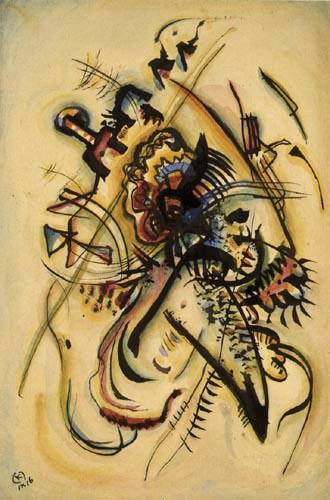 Wassily Kandinsky - Der unbekannten Stimme