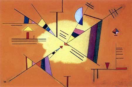 Wassily Kandinsky - Diagonale