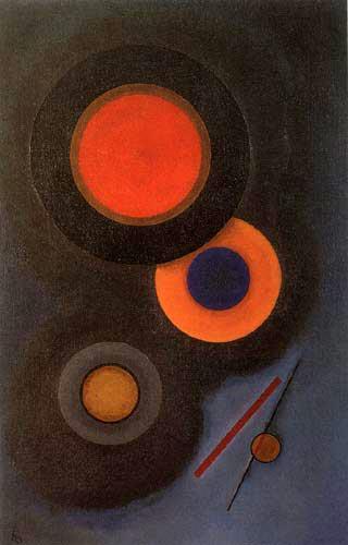 Wassily Kandinsky - Dicht umgeben