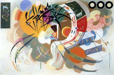 Vassily Kandinsky - Courbe dominante