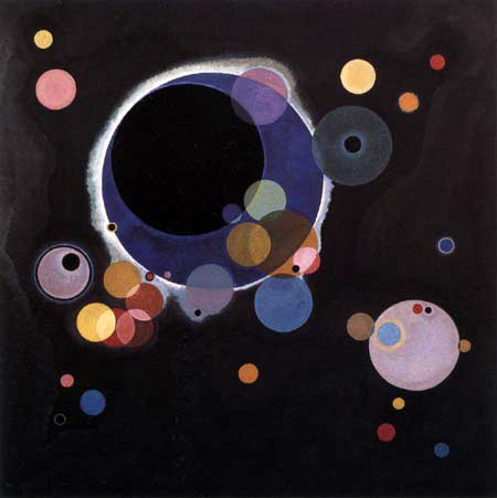 Wassily Kandinsky - Einige Kreise