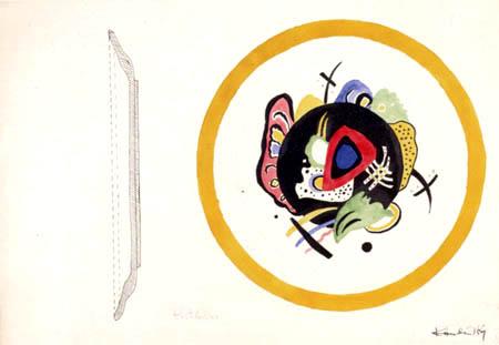 Wassily Kandinsky - Entwurf für eine Obstplatte