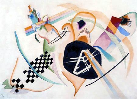 Wassily Kandinsky - Auf Weiss I, Entwurf