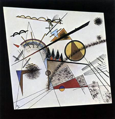Wassily Wassilyevich Kandinsky -  In the black square, Sketch