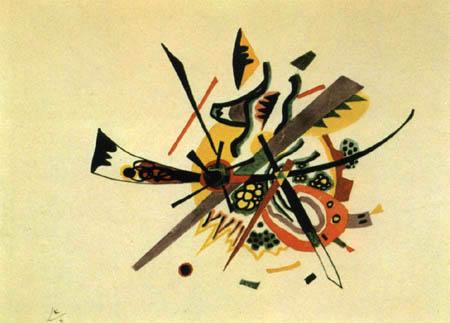Wassily Kandinsky - Kleine Welten I, Entwurf