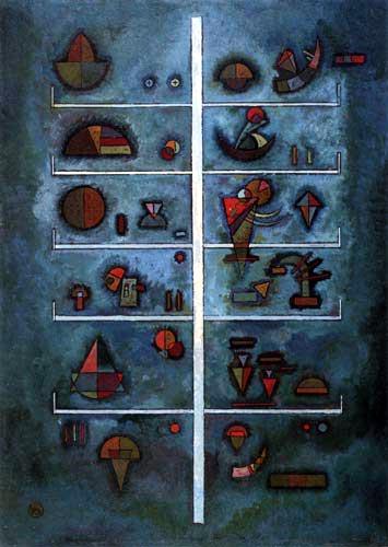 Wassily Kandinsky - Etagen