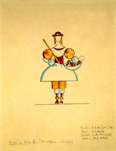 Vassily Kandinsky - Figure à Image XII, une femme du marché de Limoges