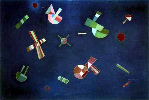 Wassily Kandinsky - Fixierter Flug