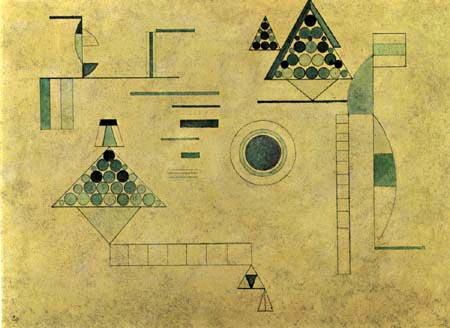 Wassily Kandinsky - Grüngewebe