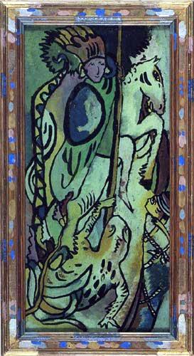Wassily Kandinsky - Heiliger Georg II