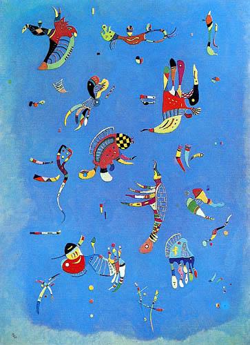 Wassily Wassilyevich Kandinsky - Sky blue