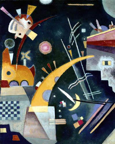 Wassily Wassilyevich Kandinsky - Horn Form