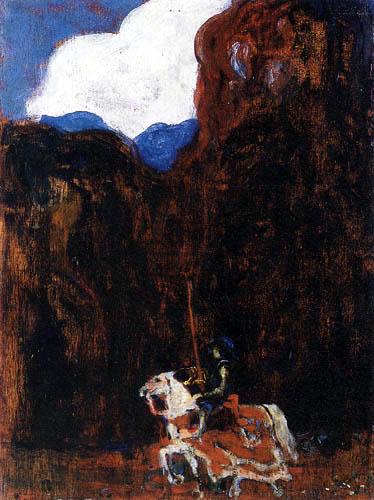 Wassily Kandinsky - Im Walde