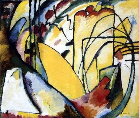 Wassily Wassilyevich Kandinsky - Improvisation 10