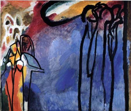 Wassily Wassilyevich Kandinsky - Improvisation 19