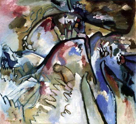 Wassily Kandinsky - Improvisation 21 A