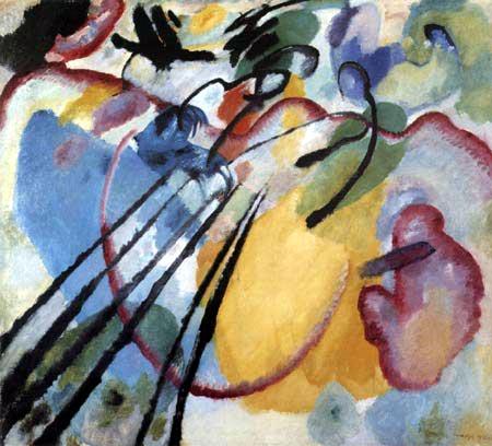 Wassily Kandinsky - Improvisation 26, Rudern