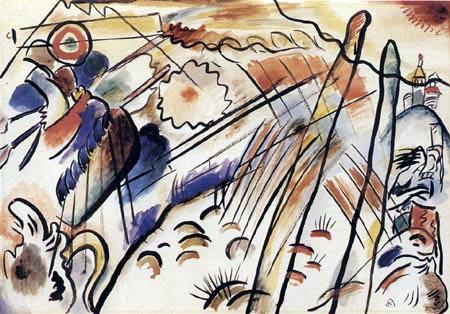 Wassily Wassilyevich Kandinsky - Improvisation 28