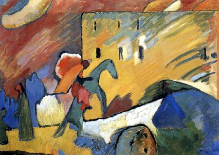 Wassily Kandinsky - Improvisation 3