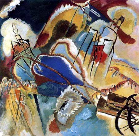 Wassily Wassilyevich Kandinsky -  Improvisation 30, Guns