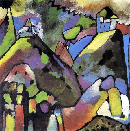 Wassily Wassilyevich Kandinsky - Improvisation 9
