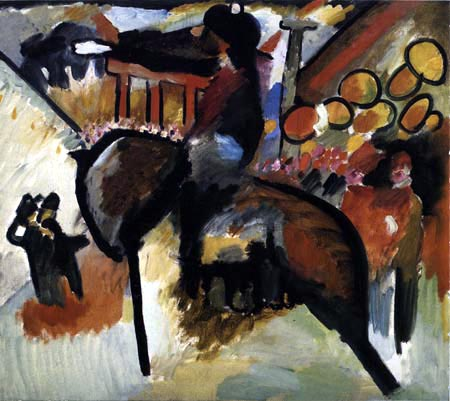 Wassily Kandinsky - Improvisation IV, Gendarm