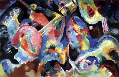 Wassily Kandinsky - Improvisation Sintflut
