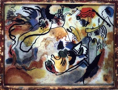 Wassily Kandinsky - Jüngstes Gericht