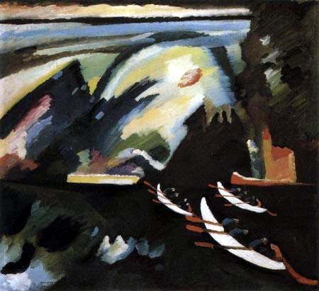 Wassily Wassilyevich Kandinsky - The boat trip