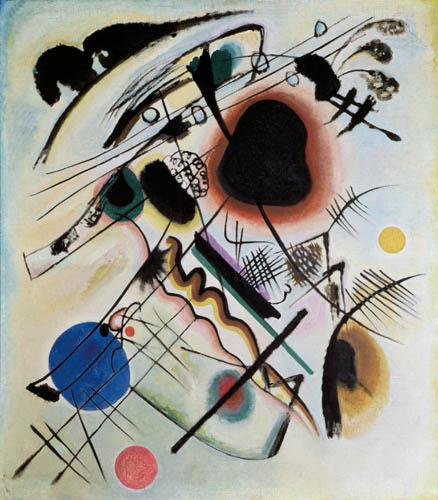 Wassily Kandinsky - Der schwarze Fleck
