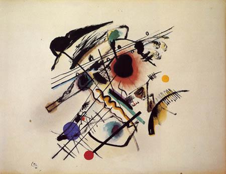 Wassily Wassilyevich Kandinsky - The black spot