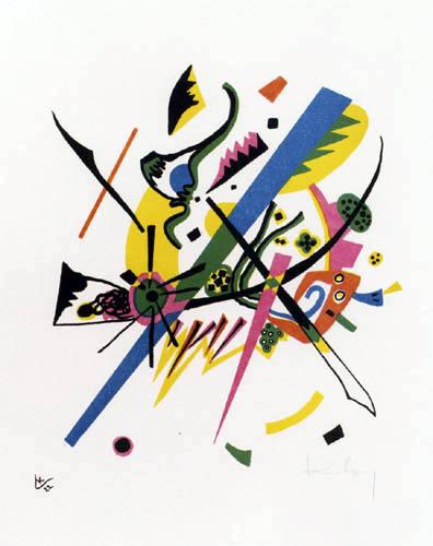 Wassily Wassilyevich Kandinsky - Small Worlds I