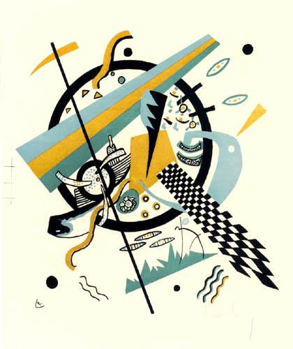Vassily Kandinsky - Petits mondes IV