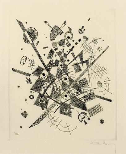 Wassily Wassilyevich Kandinsky - Small Worlds IX