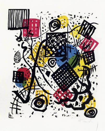 Wassily Kandinsky - Kleine Welten V