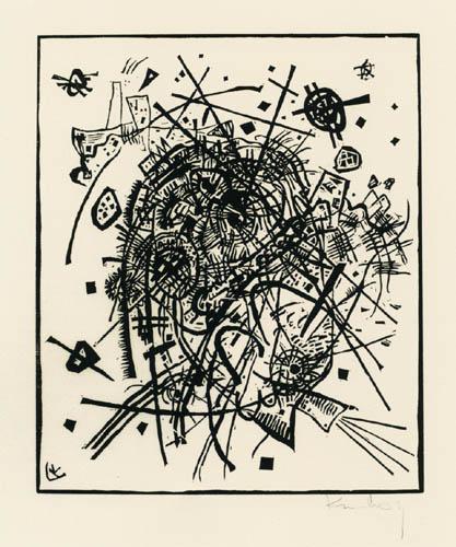 Vassily Kandinsky - Petits mondes VIII