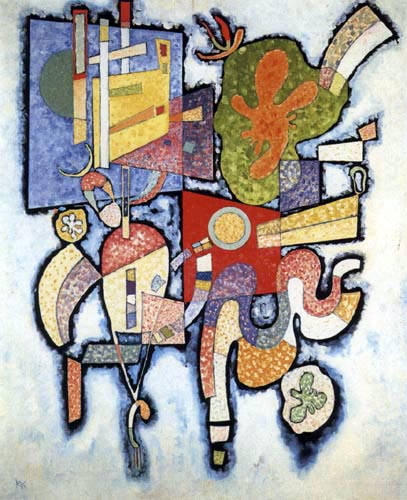 Wassily Wassilyevich Kandinsky - Complexity - Simple