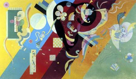 Wassily Kandinsky - Komposition IX