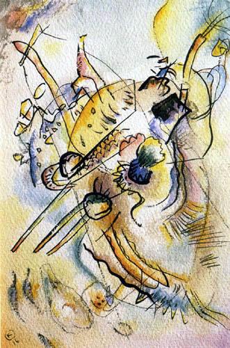 Wassily Kandinsky - Komposition D