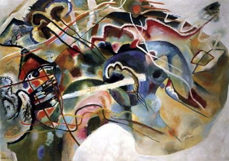 Wassily Kandinsky - Mit Weissem Rand