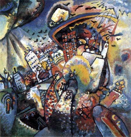 Wassily Kandinsky - Moskau I
