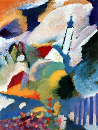 Vassily Kandinsky - Murnau avec église I