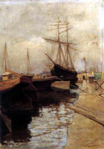 Vassily Kandinsky - Port d'Odessa I