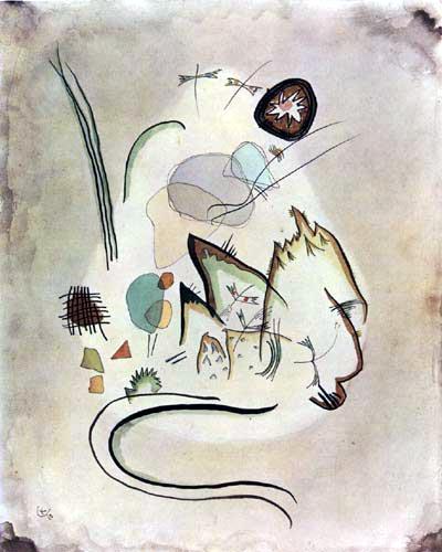 Wassily Kandinsky - Ohne Titel, Landschaft