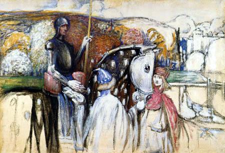 Wassily Kandinsky - Reisiger Ritter