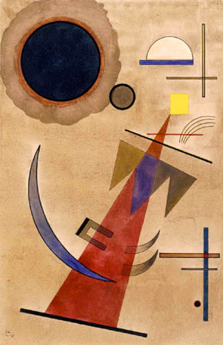 Wassily Kandinsky - Rot in Spitzform
