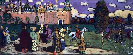 Vassily Kandinsky - Scène russe