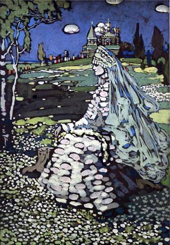 Wassily Wassilyevich Kandinsky - Russian beauty in landscape