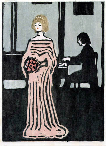 Vassily Kandinsky - Chanteuse
